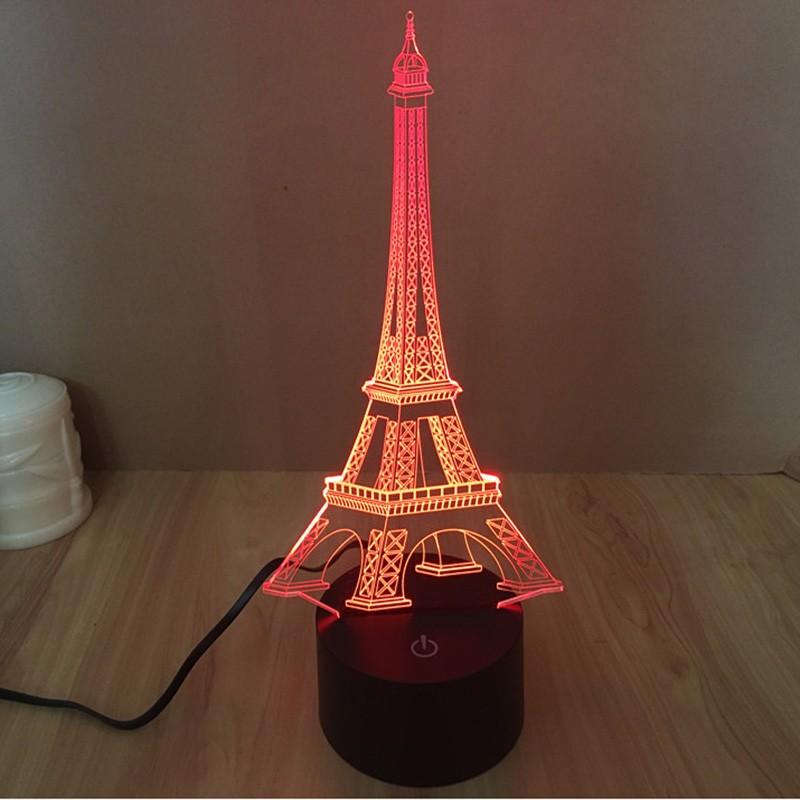 red night light