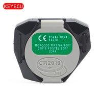 Keyecu uzaktan kontrol panosu için 3 düğme 433MHz Toyota FCC ID: B41TA