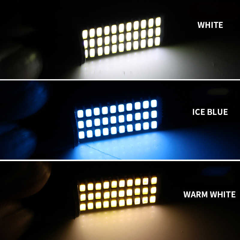 BraveWay LED W5W T10 194 168 W5W 33SMD Led Parking Bulb Auto Wedge Clearance Lamp CANBUS Silica Bright White License Lights