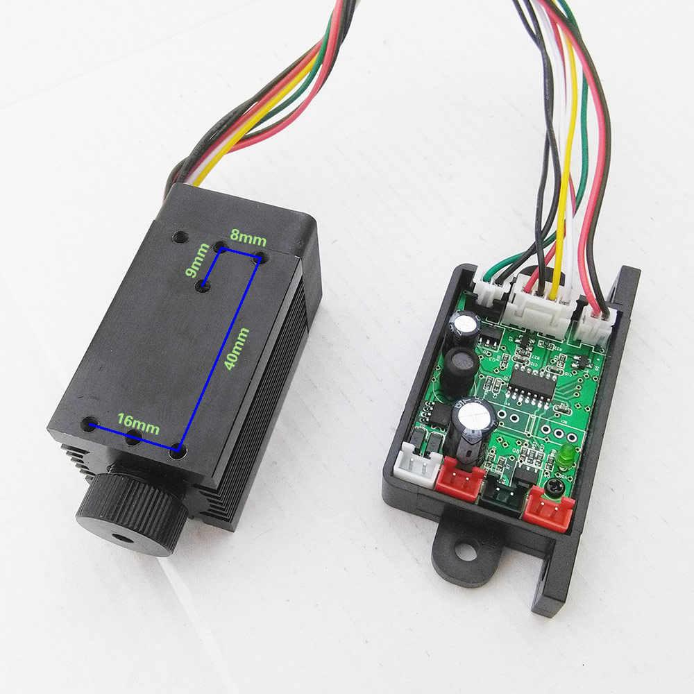 Tgleiser 532nm 200 MW Hijau Laser Module RGB Panggung Aksesori Laser Diode Fokus TTL 12V Laser
