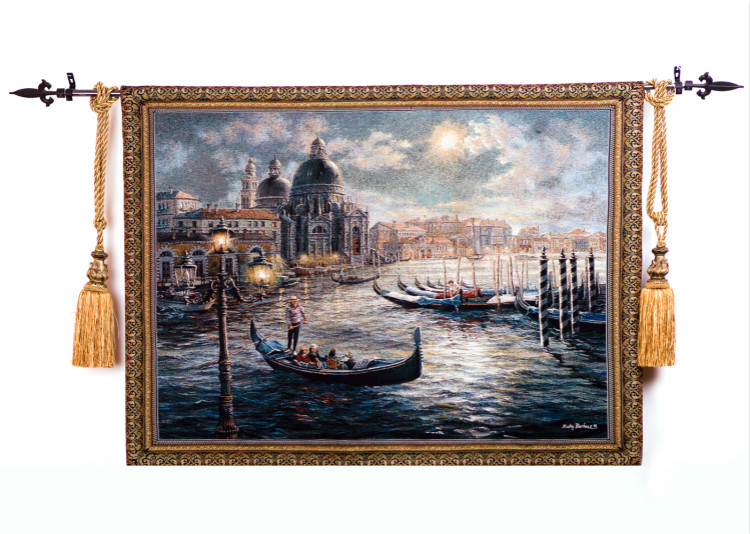 134*104cm European Style Venice Scenery Venice Nautical Art Home Textile Living Room Wall Pictures Wall Hanging Tapestry ST 20