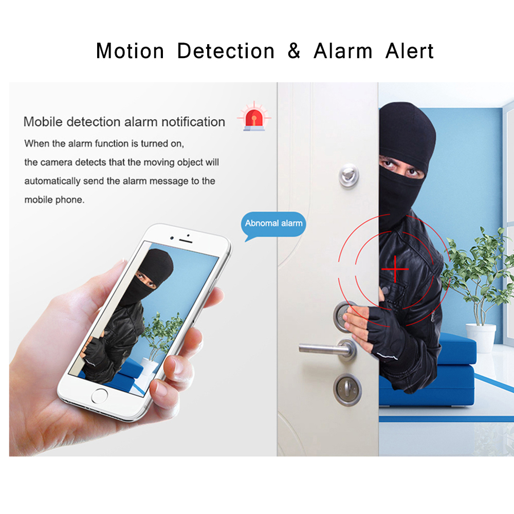 INQMEGA 720P IP kamera vezeték nélküli Wifi Cam beltéri otthoni - Biztonság és védelem - Fénykép 4