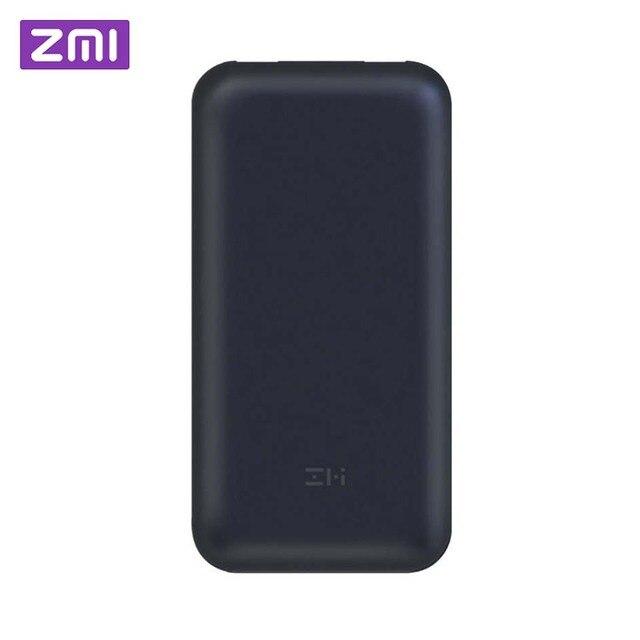 Xiaomi ZMI power Bank 20000 мАч 15000 mahUSB-C PD2.0 type-C power bank Портативная зарядка внешний аккумулятор быстрая зарядка 3,0 зарядное устройство