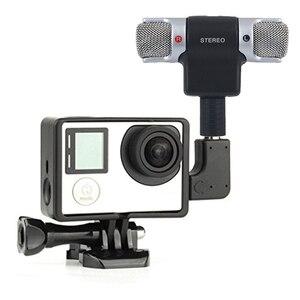 Image 2 - ميكروفون ستيريو رقمي صغير محمول عالي الجودة لتسجيل كاميرا الكمبيوتر المحمول MD
