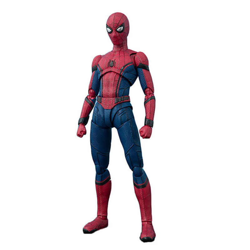 Vingadores Marvel Super Hero Spiderman Figuras de Ação The Amazing Spider-Man Brinquedos de 15 centímetros do Regresso A Casa