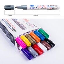 Sipa 3mm 12 Color Salt Waterproof  Marker Pens, Highlighter for Car Tire, Electronic, Toys, ceramics Metal
