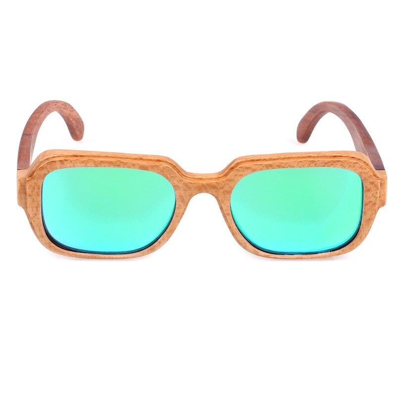Bamboo Square Polarised Sunglasses 4