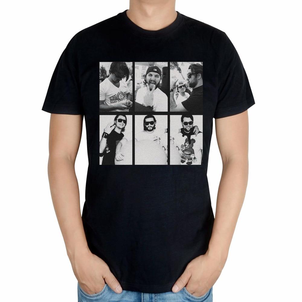 2 вида Летний Стиль Мода Письмо axwell ingrosso бренд певица мужчины DJ мастер ММА печать хлопковая футболка музыка фитнес - Цвет: Синий