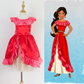 New Elena of Avalor Kids Girls Fancy Cosplay Costume Dress Party Dress Xmas Gifts Free shipping