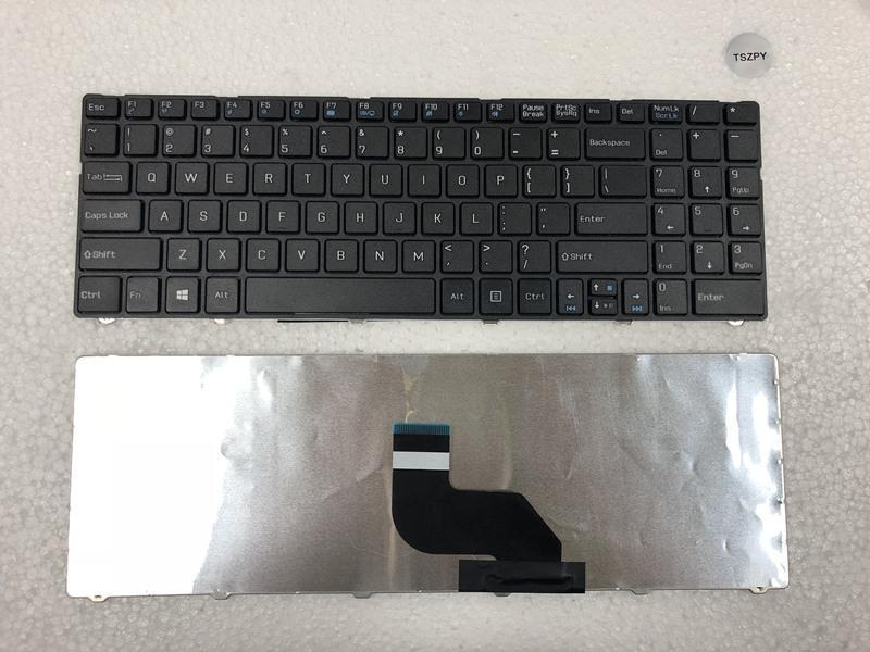 New US Laptop keyboard For MSI CX640 CX640-851X A6400 CR640 MS-16Y1 цены