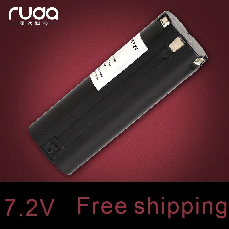 for Makita MAK 7.2vs 1300mAh power tool battery 191679-9,192532-2,192695-4,632002-4,632003-2,7000,7002,7033