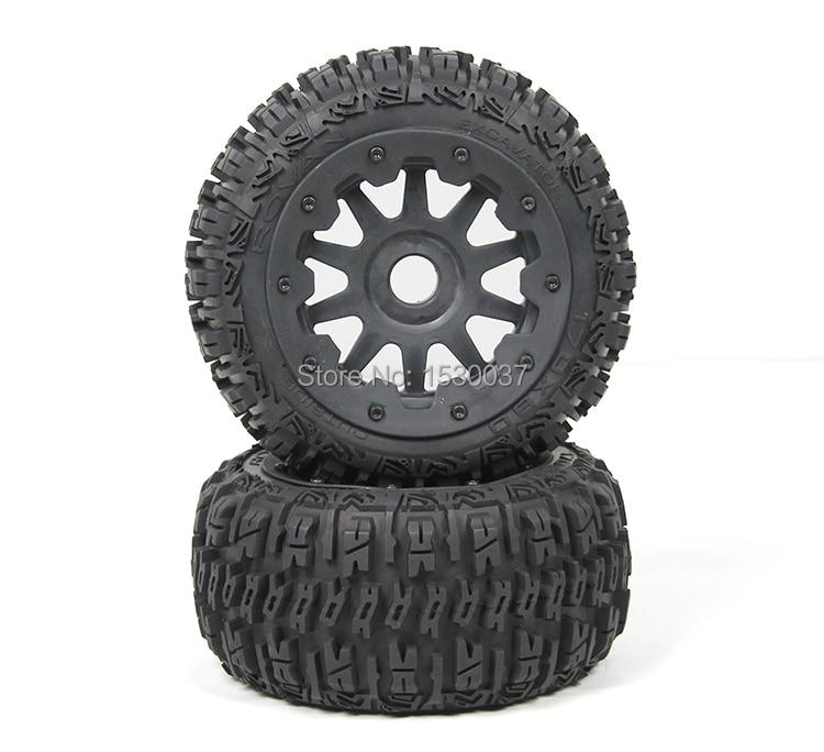 все цены на Rovan BAJA 5B three generations of Rear wheel X 2 tire assembly онлайн