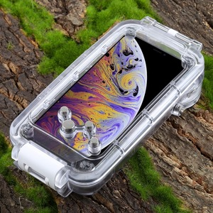Image 5 - PULUZ for iPhone XS Max / XR Diving Case 40m/130ft Waterproof Housing Photo Taking Underwater Snorkeling Cover for iPhone X/ XS
