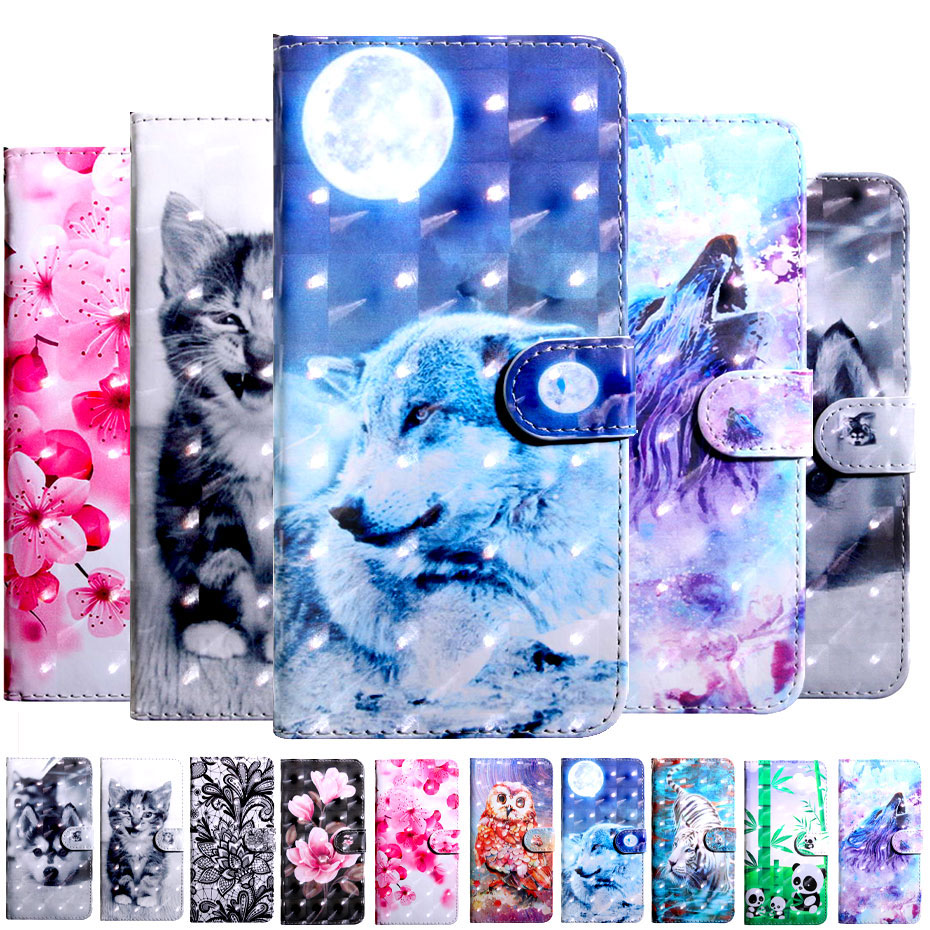 Flip Wallet Case For NOKIA 2 3 5 6 7 Book Flip Style Luxury Phone Case For NOKIA 3 1 7 1 6 1 7 Plus 2018 PU Leather Cover Case in Wallet Cases from Cellphones Telecommunications