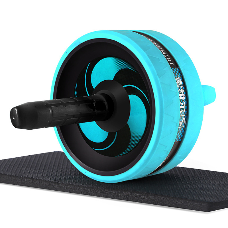 цены на Abdominal Exercise Wheel AB Rollers Exerciser Fitness Workout Gym Roller Great for Arms, Back, Belly Core Trainer Free Knee Pad