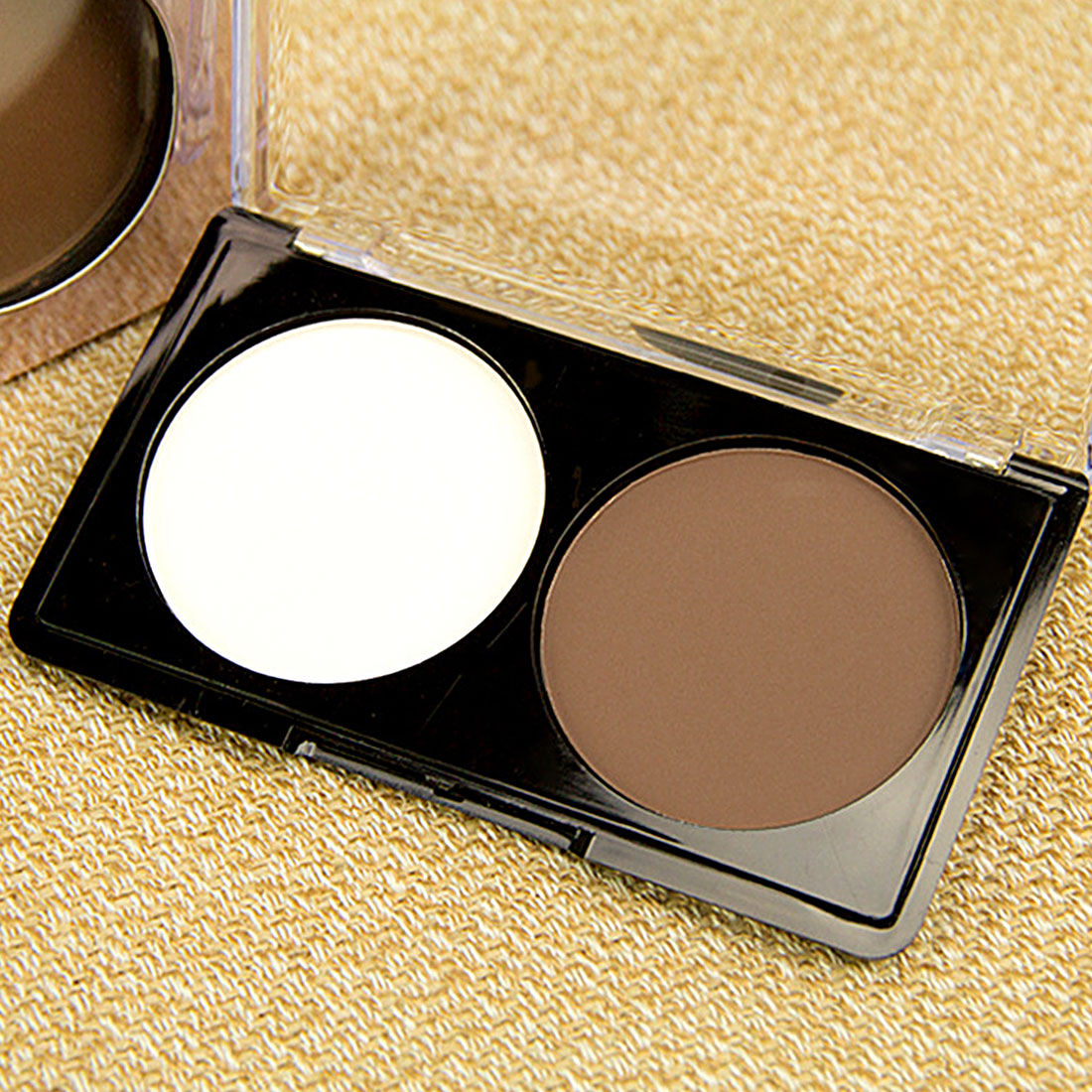 2 Colors Highlighter Powder Palette Face Shading Trimming Makeup Face Contour Grooming Facil Concealer Pressed Powders Top sale