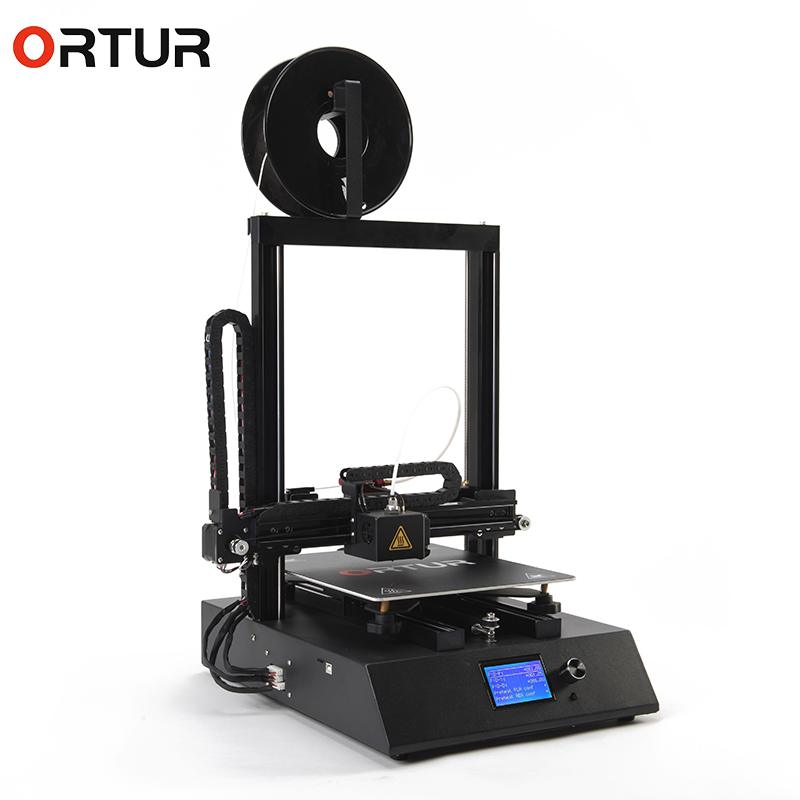 Dropshipping Electronic Ortur4 Filameny Out Detection 3d Printers Machines Metal 25 Points Hotbed Auto Leveling Impresora