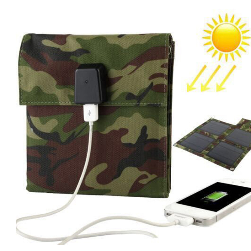5V/10W laminated all-in-one high efficiency portable battery sun charger solar panel cell outdoor charging for power bank phone