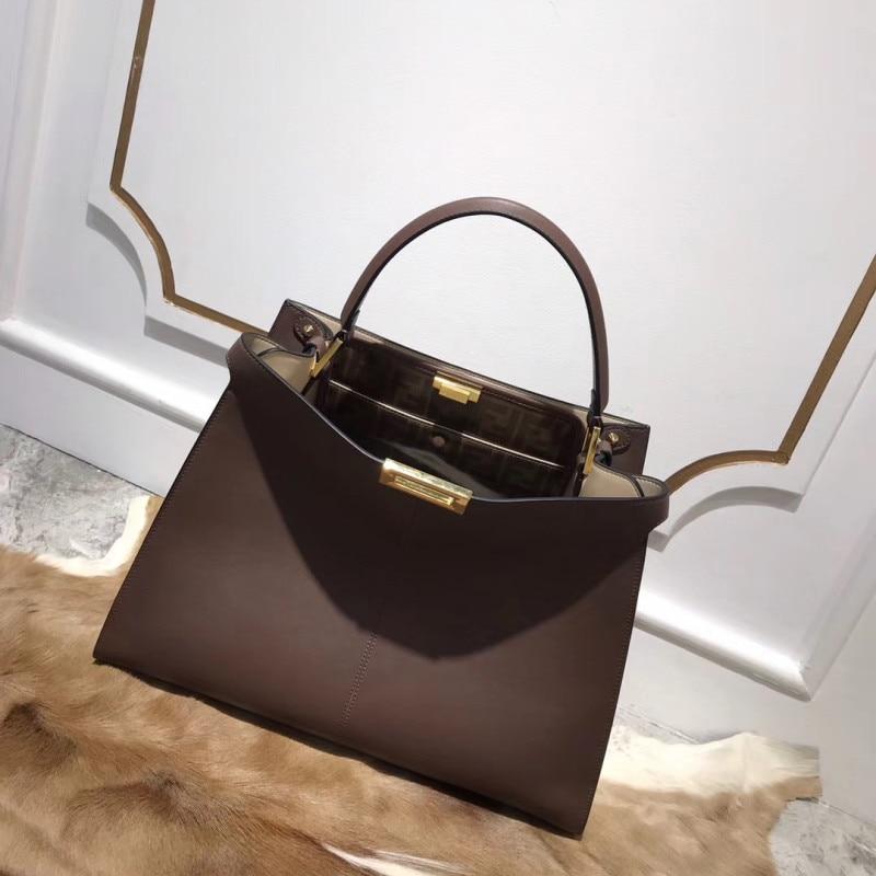 2019041714 2019 genuíno bolsas de couro de luxo mulheres saco Europa marca runway desigin feminino qualidade superior transporte livre de dhl