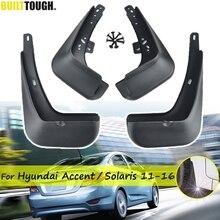 Błotniki samochodowe do Hyundai Solaris RB 2011   2016 błotniki błotniki przednie tylne ochraniacze 2012 2013 2014 2015 hatch