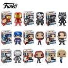 Funko POP Captain America 3 Civil War civil war winter soldier Iron man action Vinyl Figure mini Model Toy with Fancy Box