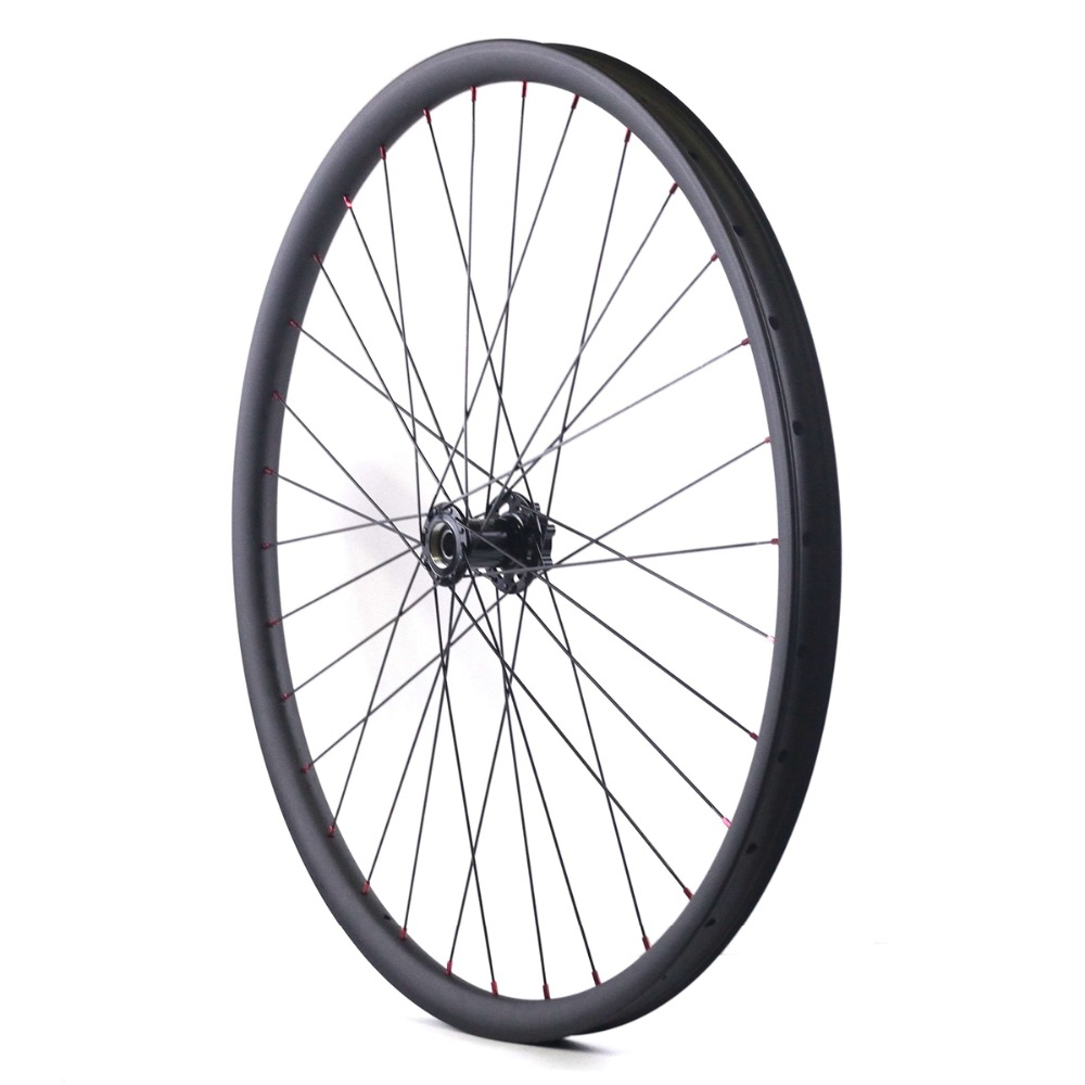 29er 35mm width mtb carbon rim 29in mountain bicycle rim tubeless compatible 1pc