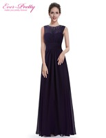 [Clearance Sale] Mother of the Bride Dresses Women Ever Pretty HE08589PP Eegant Long Pleated Evening Mother of the Bride Dresses