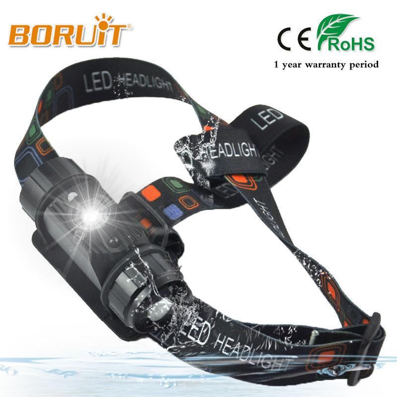 BORUIT 3W Mini IR Sensor Headlight Induction Usb Rechargeable Lantern Headlamp 350 Lumens Flashlight Head Torch