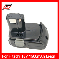 Replace power tool battery Li ion 18v 1500mah For HITACHI