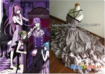 Vocaloid 2 los siete pecados capitales la locura del duque Venomania Luka vestido de megurine H008