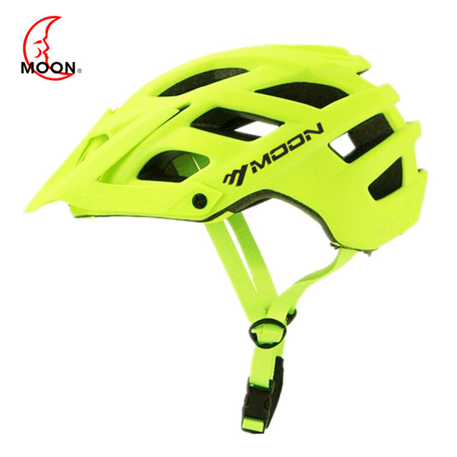 MOON MTB Cycling Bike Sports Safety Helmet OFF-ROAD Super Mountain Bicycle Helmet Outdoors Riding Protective Helmet