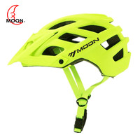 MOON MTB Cycling Bike Sports Safety Helmet OFF ROAD Super Mountain Bicycle Helmet Outdoors Riding Protective Helmet