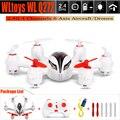 Hot sale q272 rc 6 axis drone wltoys 2.4g 4 canais quadcopter hexacopter aeronave helicóptero de controle remoto com led luz