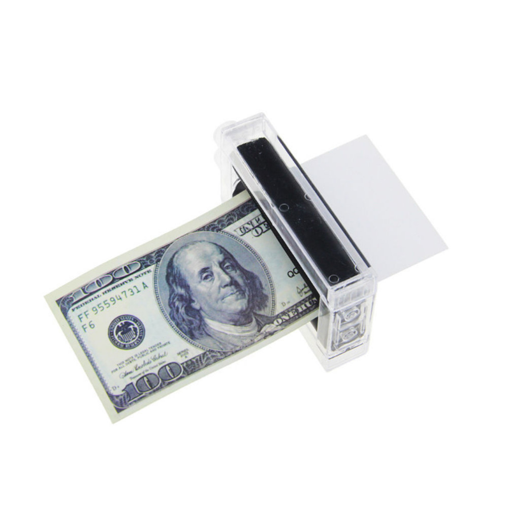 1 Pc New Arrival Money Printing Machine Maker Easy Magic Trick Toys Magician Props Toy 1