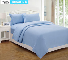 Popular Blue Black ComforterBuy Cheap Blue Black Comforter Lots - Blue solid color king size comforter