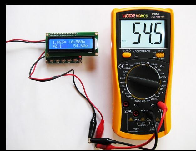 Free Shipping! RTD calibrator resistance signal generator module