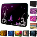 13 15 17 14 12 10 7 13.3 15.6 inch Women Laptop Bags Free Shipping Zipper Laptop Cases Sleeve Pouch For Thinkpad HP Stream/Envy