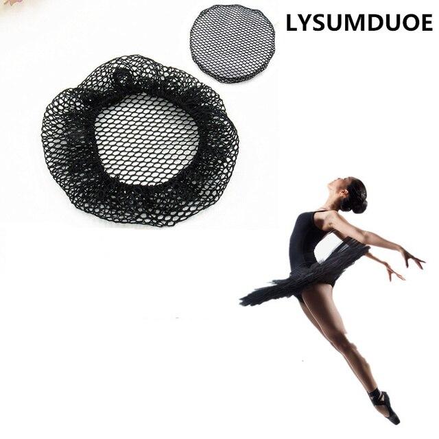 74464c312bc0 Fashion 5pcs Women Hairnet Ballet Dance Snood Elastic Ball Bands ...