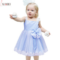 Lovely Lace Cutton   Flower     Girl     Dresses   2018 A-line Little Kids Communion   Dresses   Pageant   Dresses   robe enfant fille mariage