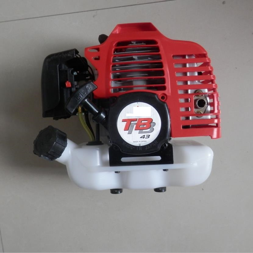TB43 GASOLINE ENGINE 42.7CC 2 STROKE FOR POWERED BACKPACK AUGER BLOWER BRUSH CUTTER TRIMMER SPRAYER FINISHED UNIT-in Tool Parts from Tools    1