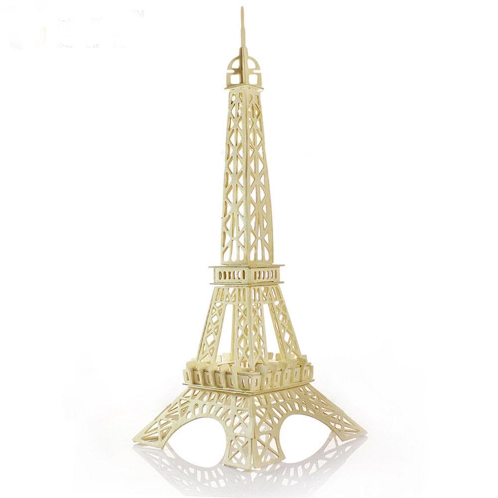 Aliexpress Com Buy Eiffel Tower 3d Jigsaw Puzzle Toys