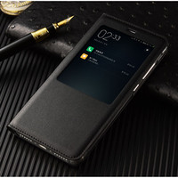 Xiaomi Redmi Note 4 Pro Case Leather Flip Protector Cover Xiao Mi Red Rice Note4 Mobile