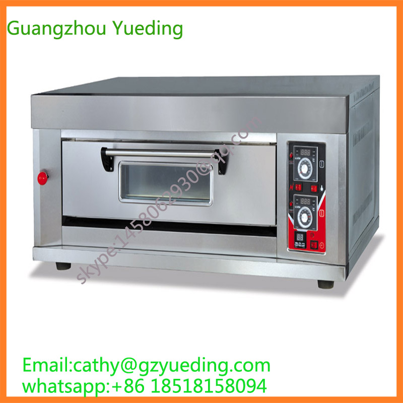 Reliable manufacturer of baking oven offer effective bread pizza baking oven run by gas capacity one decks one trays effective transition into year one
