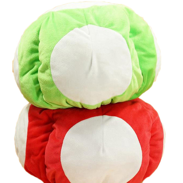mushroom bean bag chair bedroom chairs ireland cartoon super mario red toad plush doll stuffed toy warm hat cosplay cap collection winter indoor 12