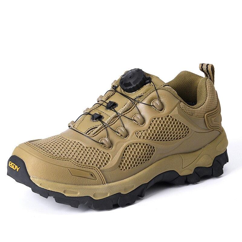Nouveaux hommes tactiques militaires chaussures en plein air BOA système de laçage réaction rapide bottes armée combat désert baskets chasse randonnée chaussures