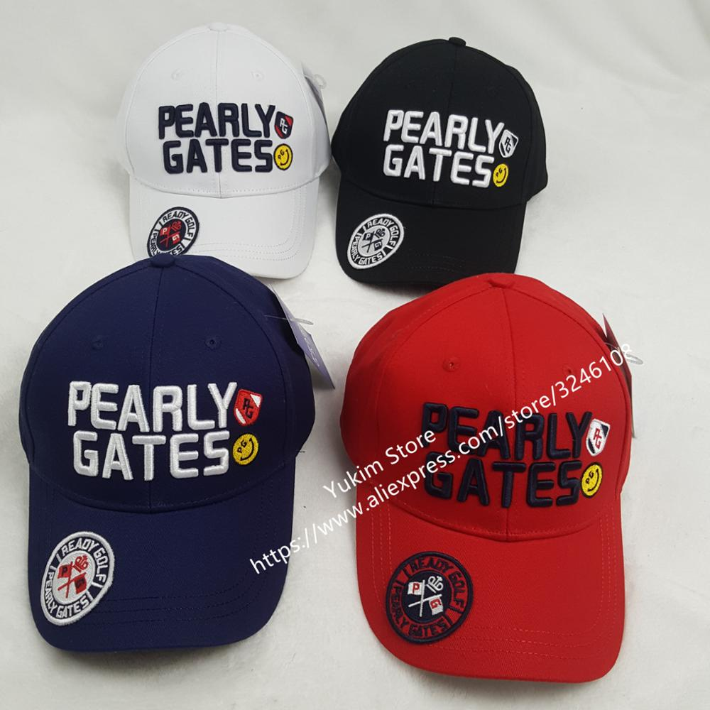Golf hat golf cap PEARLY GATES Baseball cap Outdoor hat new sunscreen shade sport golf hat Free shipping casual letter c shape baseball hat