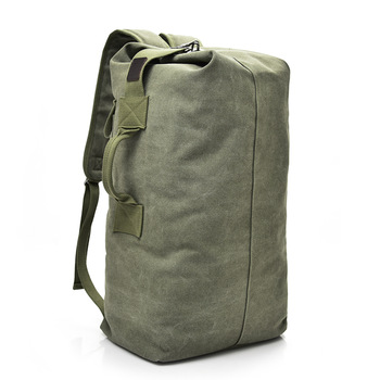 New Large Capacity Backpack Male Luggage Boys Canvas Backpack Bucket Shoulder Bags Leisure Men Backpacks for Travel for School 1