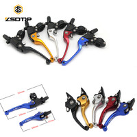 ZSDTRP 22mm Alloy ASV Series 2ND Clutch Brake Folding Lever Universal Motorcycle ATV Dirt Pit Bike