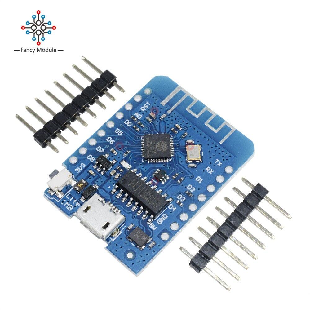 Pour WEMOS D1 mini Lite V1.0.0-WIFI Internet de Choses développement conseil basé ESP8285 1 mb FLASH
