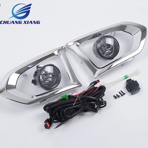 For Nissan Patrol Y62 Armada Accessories Original Design Fog Lamp with Chrome Fog Light Cover for nissan patrol y62 armada accessories original design fog lamp with chrome fog light cover